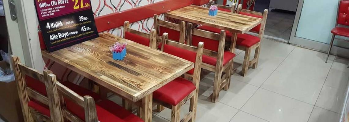 Çiğ Köfte ve Kokoreç Bayiliği Alanlar veya Almayı Düşünenler İçin En Uygun Cafe Masa Sandalye Modelleri