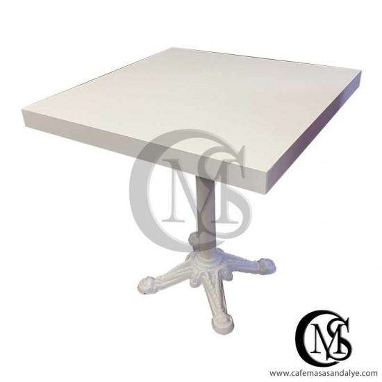 Döküm Ayaklı Cafe Masası