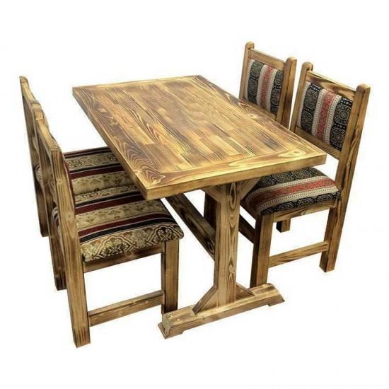 Ahşap Masa Sandalye Takımı