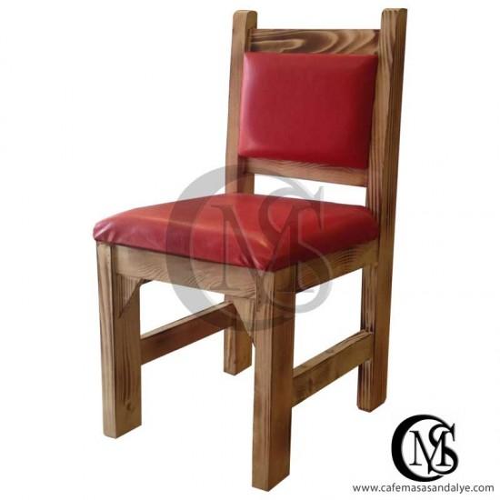 Ahşap Cafe Sandalye (STN)