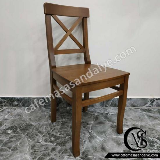 Çapraz Kavisli Sandalye