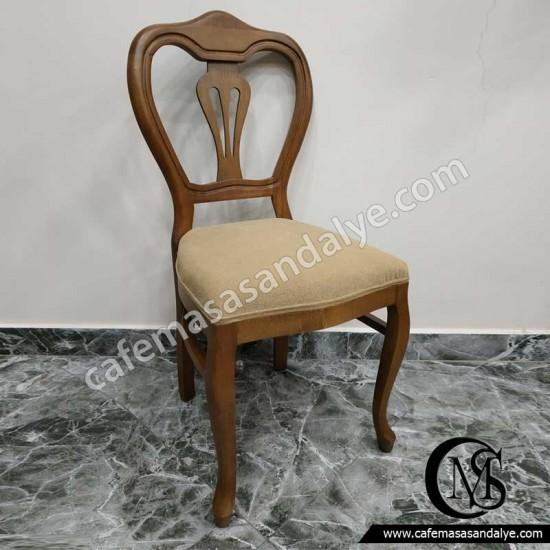 Ahşap Sandalye (Vazolu)