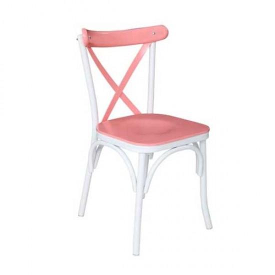 Çapraz Metal Sandalye (Kontra)