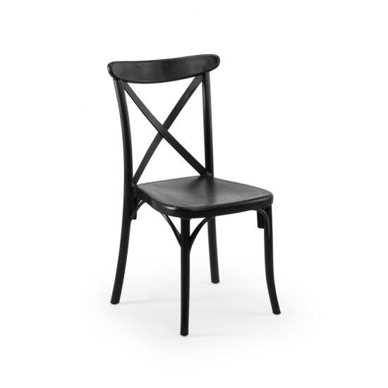 Capri Sandalye, Siyah