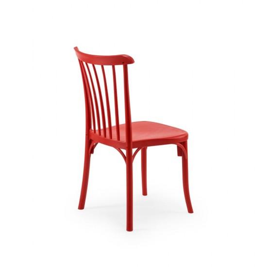 GOZO Plastik Sandalye, Kırmızı